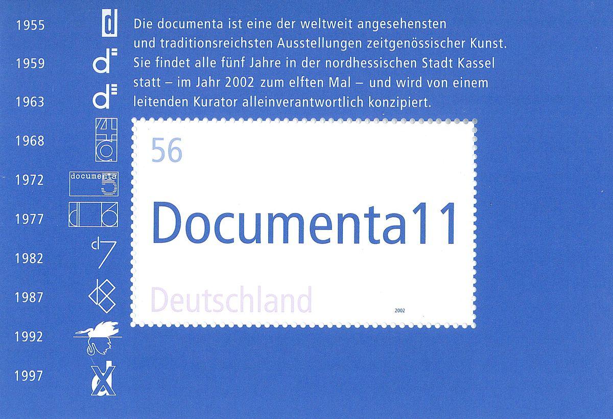 2002: Documenta 11