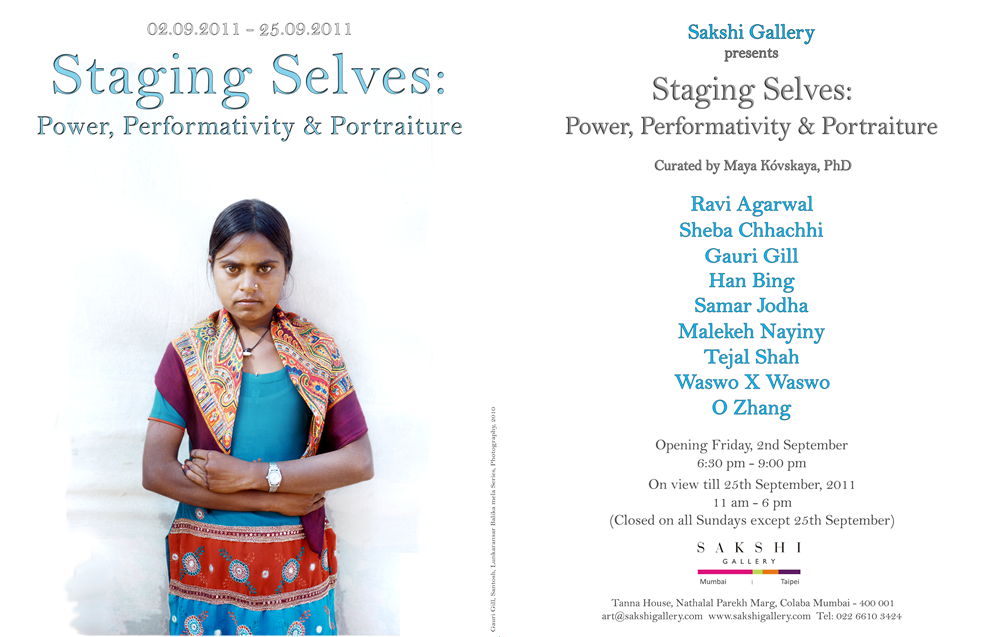 2011: Staging Selves – Power, Performativity & Portraiture