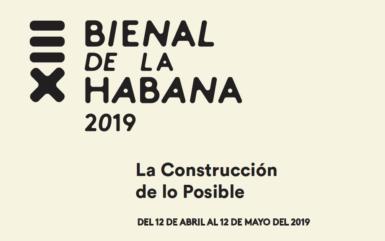 XIII Havana Biennial, 2019