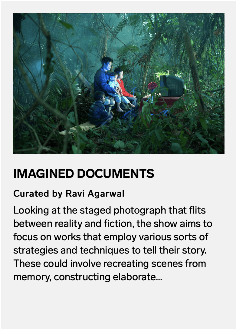 Imagined Documents – Serendipity Arts Festival 2019