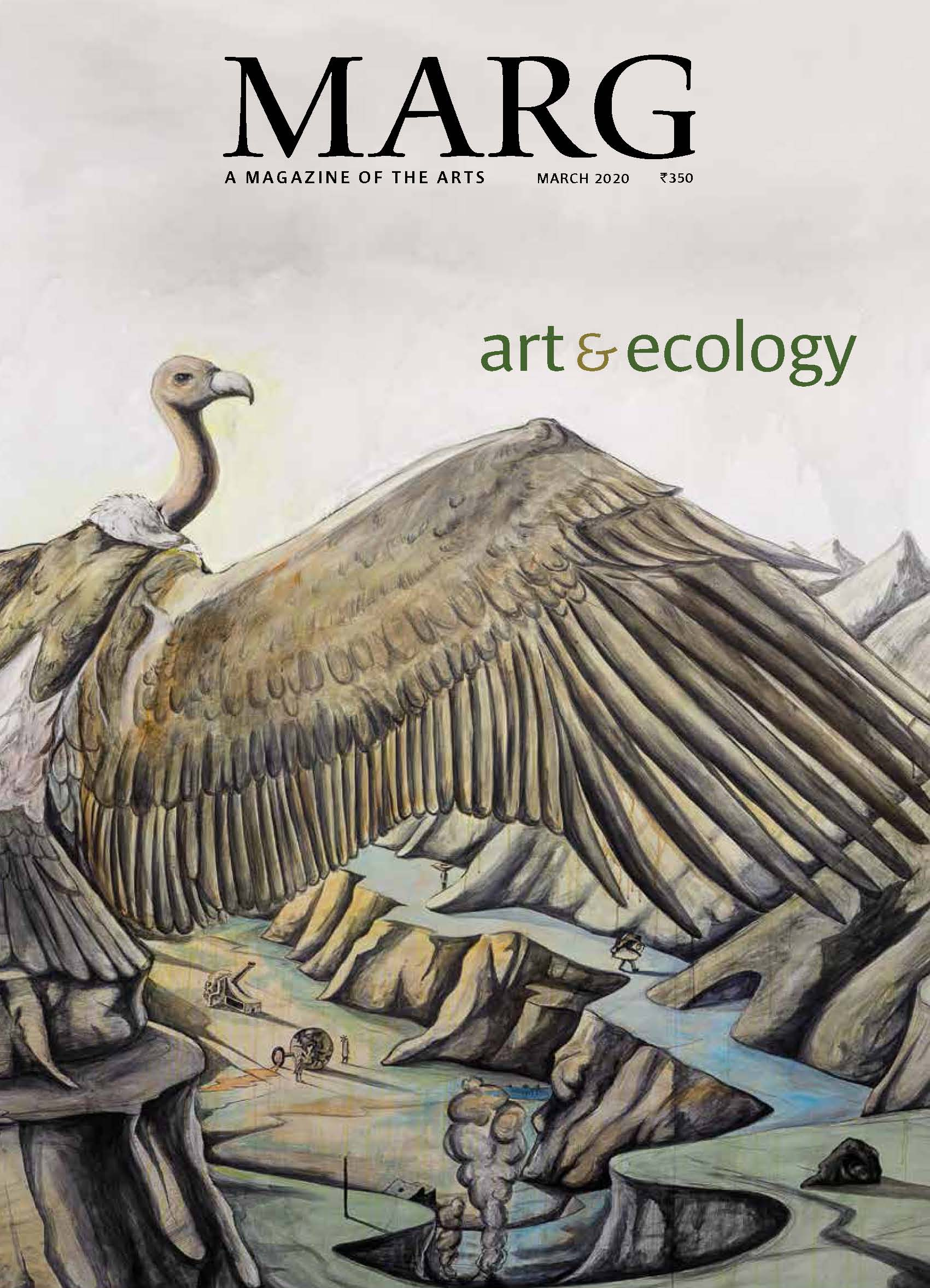 Art and Ecology (March 2020) — Marg Magazine — Co-edited by Ravi Agarwal and Latika Gupta