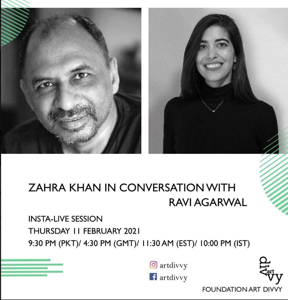 Zahra Khan in Conversation with Ravi Agarwal